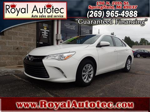 2015 Toyota Camry for sale at Royal AutoTec in Battle Creek MI