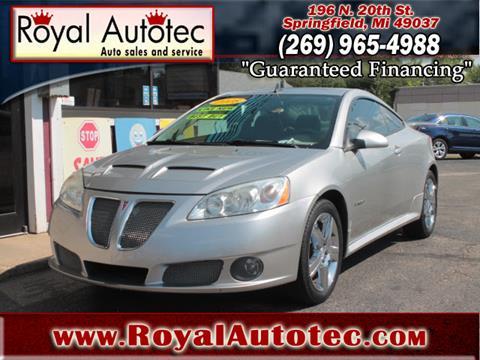 2008 Pontiac G6 for sale at Royal AutoTec in Battle Creek MI