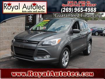 2014 Ford Escape for sale at Royal AutoTec in Battle Creek MI