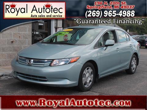 2012 Honda Civic for sale at Royal AutoTec in Battle Creek MI