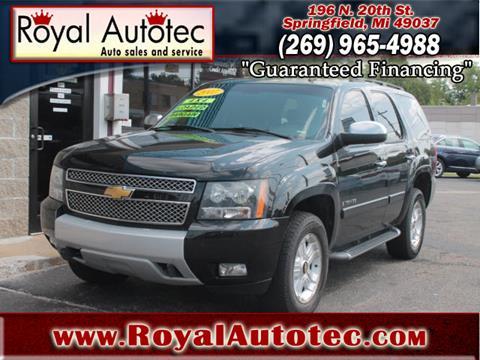 2007 Chevrolet Tahoe for sale at Royal AutoTec in Battle Creek MI