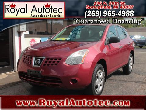 2010 Nissan Rogue for sale at Royal AutoTec in Battle Creek MI