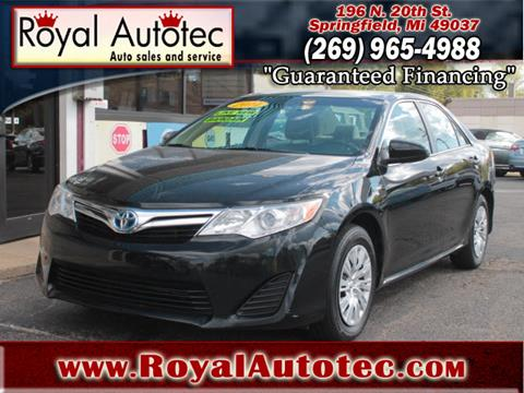 2014 Toyota Camry Hybrid for sale at Royal AutoTec in Battle Creek MI