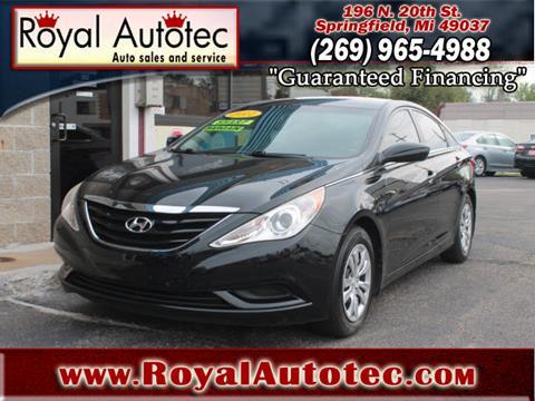 2011 Hyundai Sonata for sale at Royal AutoTec in Battle Creek MI