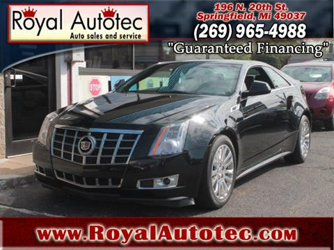 2012 Cadillac CTS for sale in Battle Creek, MI