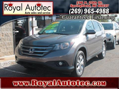 2013 Honda CR-V for sale at Royal AutoTec in Battle Creek MI