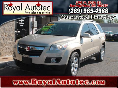 2010 Saturn Outlook for sale at Royal AutoTec in Battle Creek MI
