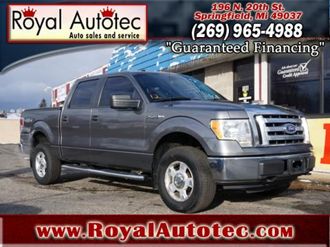 Trucks For Sale In Michigan >> 2010 Ford F 150 For Sale In Battle Creek Mi