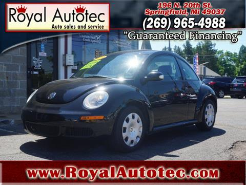 2010 Volkswagen New Beetle for sale in Battle Creek, MI