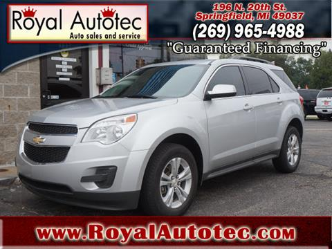 2014 Chevrolet Equinox for sale at Royal AutoTec in Battle Creek MI