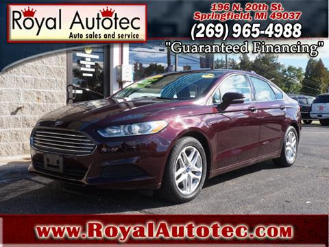 2013 Ford Fusion for sale at Royal AutoTec in Battle Creek MI