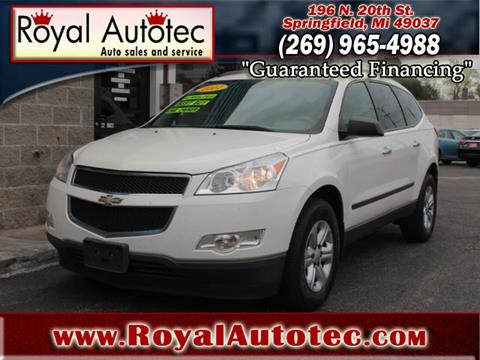 2011 Chevrolet Traverse for sale at Royal AutoTec in Battle Creek MI
