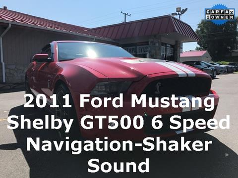 2011 Ford Shelby GT500 for sale in Reading, PA