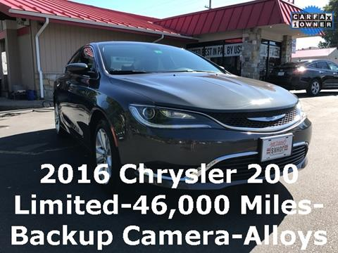 2016 Chrysler 200 for sale in Reading, PA