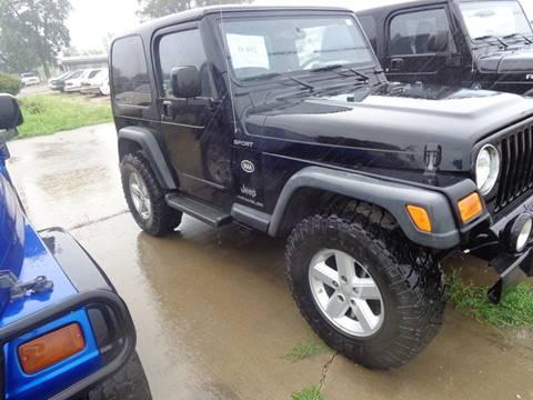 2004 Jeep Wrangler Sport for sale in Yankton, SD