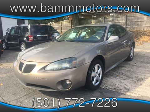 2006 Pontiac Grand Prix for sale in Sherwood, AR