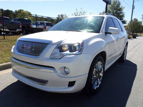 2012 GMC Acadia for sale in North Little Rock, AR
