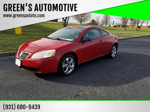 2007 Pontiac G6 for sale in Shelbyville, TN