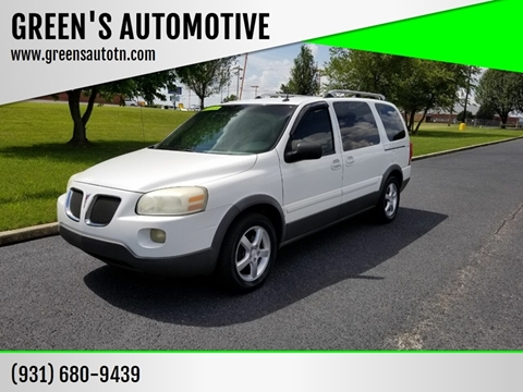 2005 Pontiac Montana SV6 for sale in Shelbyville, TN