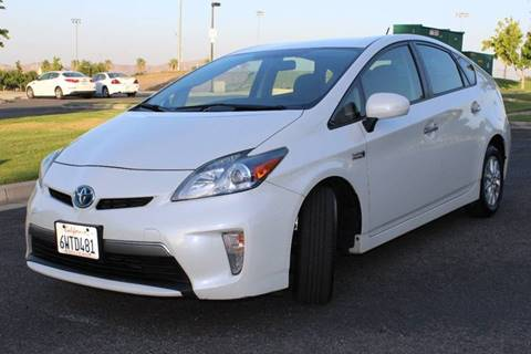 2012 Toyota Prius Plug-in Hybrid for sale at Orange Coast Motors in Corona CA