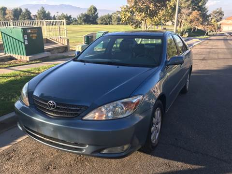 2003 Toyota Camry for sale at Orange Coast Motors in Corona CA