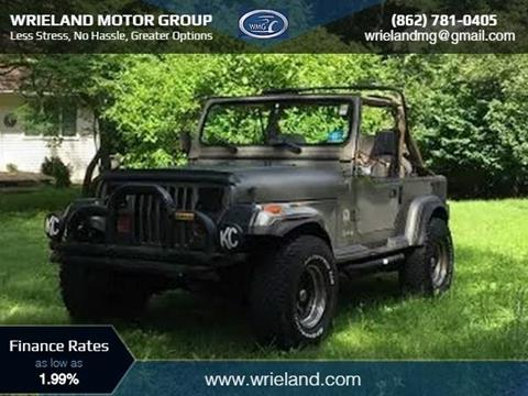 1989 Jeep Wrangler for sale in Netcong NJ
