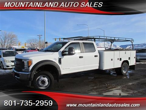 2017 Ford F-550 Super Duty for sale in Heber City, UT