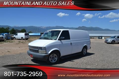 2003 Chevrolet Astro Cargo for sale in Heber City, UT