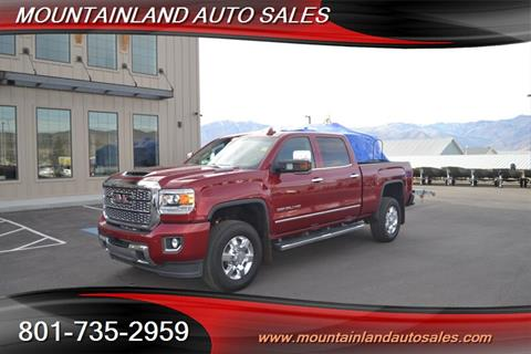 2018 GMC Sierra 3500HD for sale in Heber City, UT