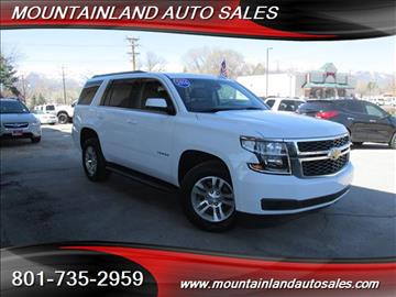 2016 Chevrolet Tahoe for sale in Heber City, UT