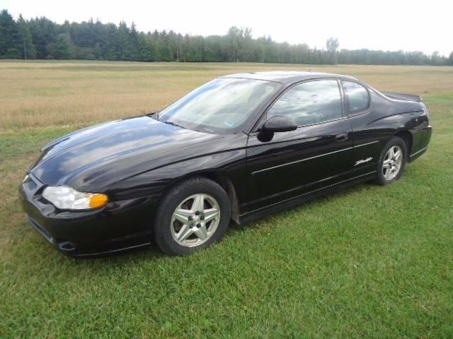 2004 Chevrolet Monte Carlo For Sale At Town U0026 Country Auto In Filion MI