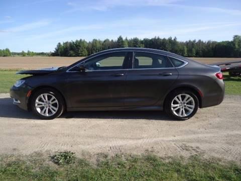 2015 Chrysler 200 for sale in Filion, MI