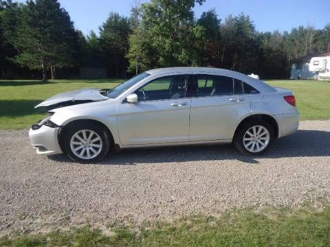 2012 Chrysler 200 for sale at Town & Country Auto in Filion MI