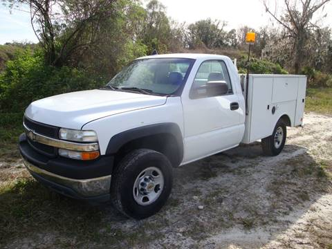 2001 Chevy 2500 utility truck Chevy 2500 utility truck for sale in Homosassa, FL