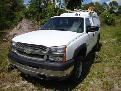 2003 Chevrolet Silverado 2500HD for sale in Homosassa, FL