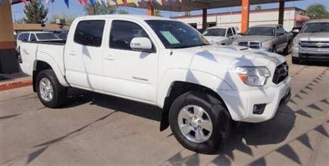 2012 Toyota Tacoma for sale at Heritage Trucks in Casa Grande AZ