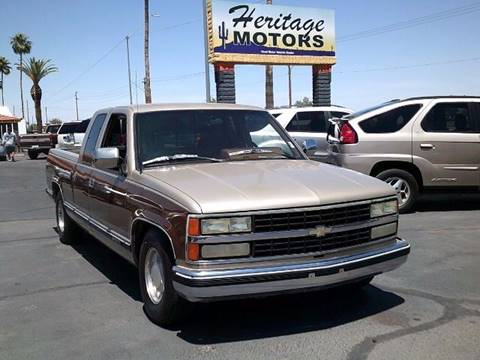 1990 Chevrolet C/K 1500 Series for sale at Heritage Trucks in Casa Grande AZ