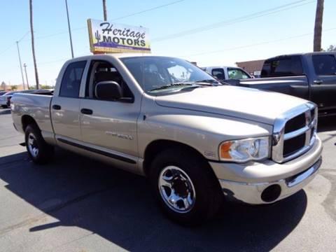 2004 Dodge Ram Pickup 2500 for sale at Heritage Trucks in Casa Grande AZ