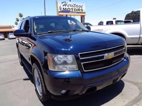 2007 Chevrolet Tahoe for sale at Heritage Trucks in Casa Grande AZ