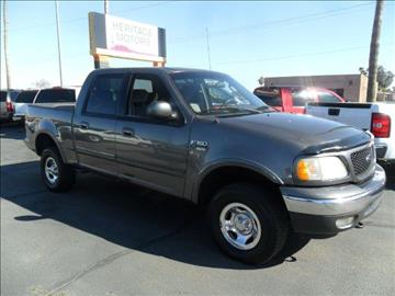 2002 Ford F-150 for sale at Heritage Trucks in Casa Grande AZ