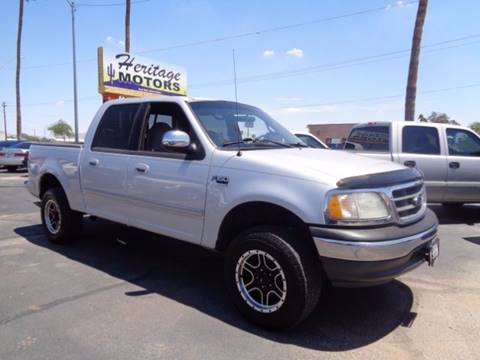 2001 Ford F-150 for sale at Heritage Trucks in Casa Grande AZ