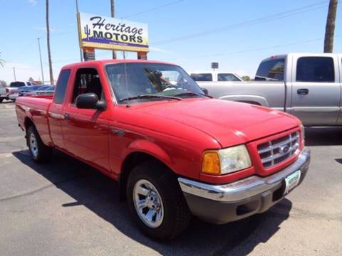 2002 Ford Ranger for sale at Heritage Trucks in Casa Grande AZ