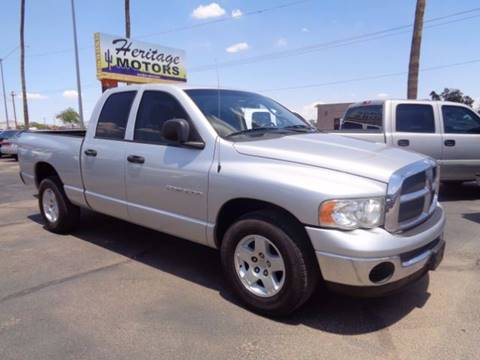 2005 Dodge Ram Pickup 1500 for sale at Heritage Trucks in Casa Grande AZ