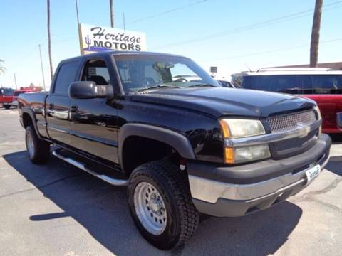 2003 Chevrolet Silverado 1500HD for sale at Heritage Trucks in Casa Grande AZ