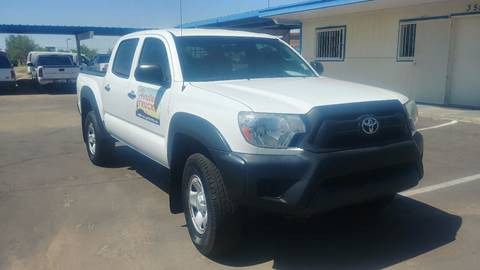 2012 Toyota Tacoma for sale at Heritage Trucks in Casa Grande AZ