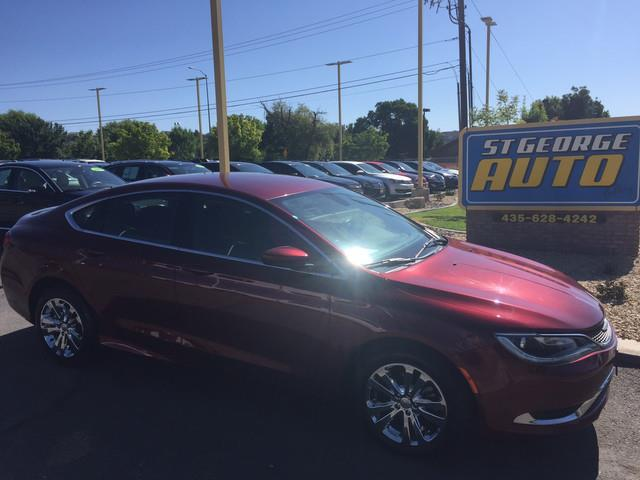 2016 Chrysler 200 for sale at St George Auto Gallery in St George UT
