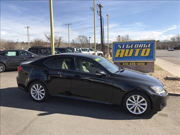 2011 Lexus IS 350 for sale at St George Auto Gallery in St George UT