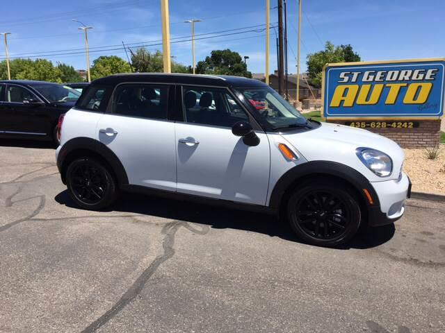 2016 MINI Countryman for sale at St George Auto Gallery in St George UT