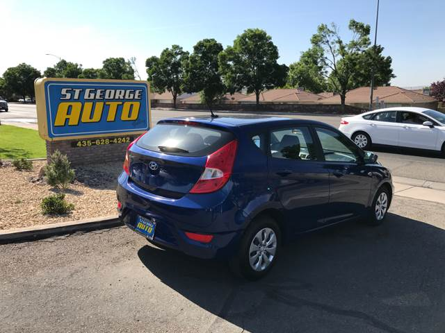 2016 Hyundai Accent for sale at St George Auto Gallery in St George UT