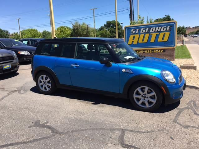 2010 MINI Cooper Clubman for sale at St George Auto Gallery in St George UT